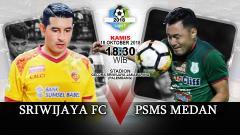 Indosport - Sriwijaya FC vs PSMS Medan