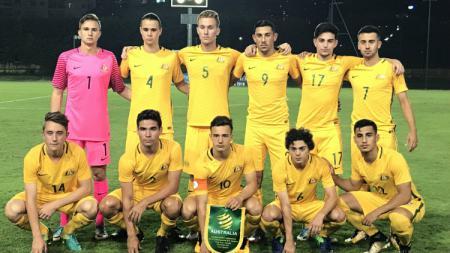 Skuat Timnas Australia U-19. - INDOSPORT