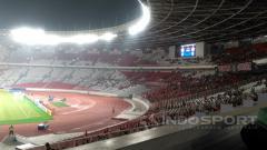Indosport - Bintang sepak bola Indonesia pernah membuat para artis dari Korea Selatan terpana ketika Indonesia All Star bertanding melawan Tim Park Ji-sung.
