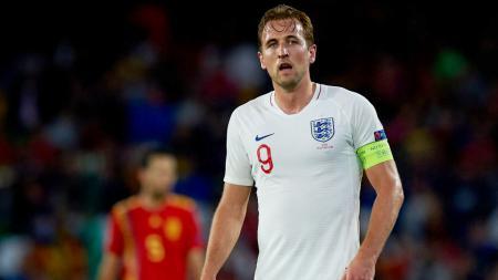 Harry Kane, striker Timnas Inggris. - INDOSPORT