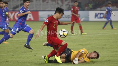 Bakal Bertemu di Playoff Kualifikasi Piala Asia 2023, Timnas Indonesia Era Luis Milla dan Indra Sjafri Pernah Bantai Taiwan. - INDOSPORT