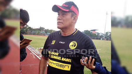 Mantan Pelatih Sriwijaya FC, Subangkit. - INDOSPORT