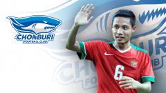 Indosport - Chonburi FC Tertarik Boyong Evan Dimas.