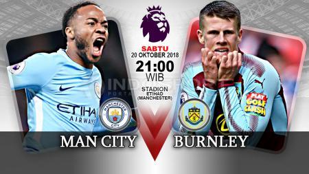Manchester City vs Burnley (Prediksi) - INDOSPORT
