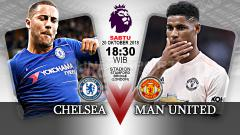 Indosport - Chelsea vs Manchester United.