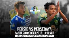 Indosport - Persib Bandung vs Persebaya Surabaya