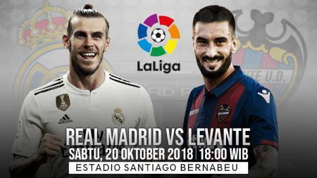 Real Madrid vs Levante - INDOSPORT