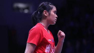 Gregoria Mariska Tunjung di ajang Denmark Open 2018. - INDOSPORT