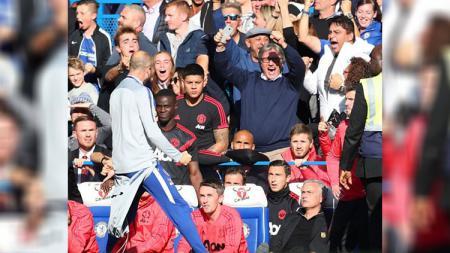 Mourinho yang sempat emosi - INDOSPORT