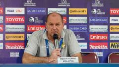 Indosport - Bojan Hodak, pelatih Timnas Malaysia U-19.