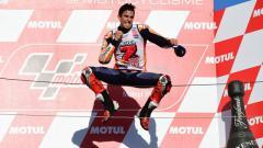 Indosport - Marc Marquez juara MotoGP 2018