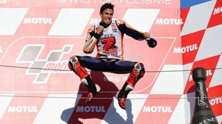 Marc Marquez juara MotoGP 2018 - INDOSPORT
