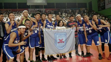 SMA 3 Juara DBL Jakarta 2018 wilayah Selatan. - INDOSPORT