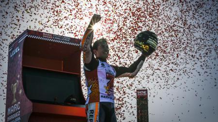 Marc Marquez menjuarai MotoGP 2018. - INDOSPORT