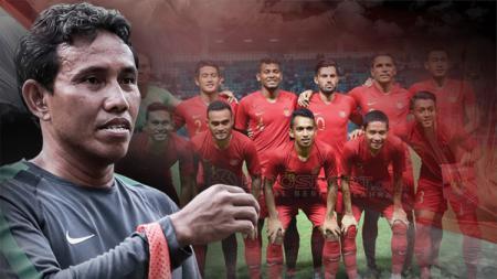 Bima Sakti resmi melatih Timnas Indonesia. - INDOSPORT