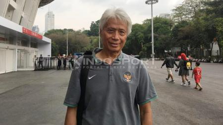Legenda timnas Indonesia, Danurwindo, optimistis Indonesia bisa menelurkan pemain sekelas Lionel Messi dan Cristiano Ronaldo. Ia pun membeberkan caranya. - INDOSPORT