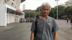 Indosport - Pelatih Persija Jakarta, Sudirman mengaku sangat mengidolakan mantan direktur teknik PSSI, Danurwindo.