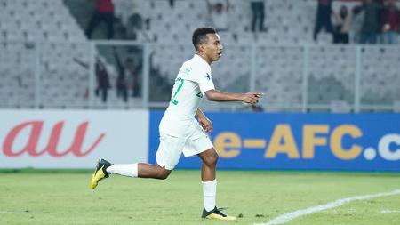 Todd Rivaldo Ferre mencetak tiga gol untuk Timnas Indonesia U-19 saat melawan Qatar U-19. - INDOSPORT