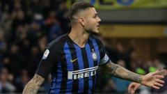 Indosport - Striker Inter Milan, Mauro Icardi.