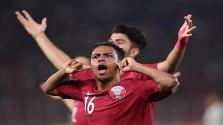 Pemain Timnas Qatar U-19, Hashim Ali A Ali. - INDOSPORT