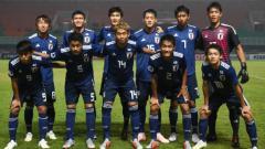 Indosport - Timnas Jepang U-19 yang berlaga di Piala Asia.