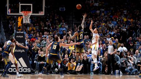 Golden State Warriors vs Denver Nuggets - INDOSPORT