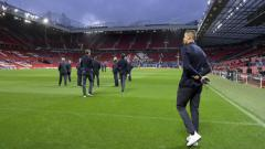 Indosport - Cristiano Ronaldo  dan pemain Juventus lainnya berada di Old Trafford Jelang Pertandingan Melawan Manchester United