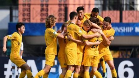 Timnas Australia U-19 Hanya Butuh 1 kemenangan lagi untuk lolos ke perempatfinal Piala Asia U-19 2018. - INDOSPORT