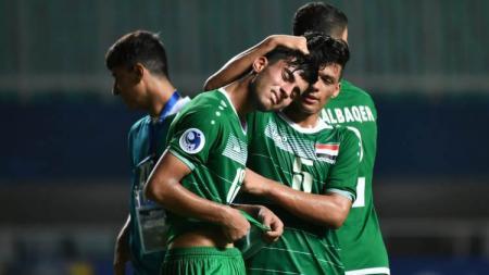 Ekspresi Kekecewaan Timnas U-19 Irak Saat Kalah dari Korea Utara di Piala Asia U-19 2018 - INDOSPORT