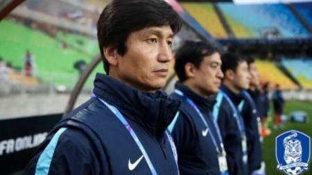 Asosiasi Sepak Bola Korea Selatan ajukan komplain ke penyelenggara AFC U-19 karena salah putar lagu kebangsaan. - INDOSPORT