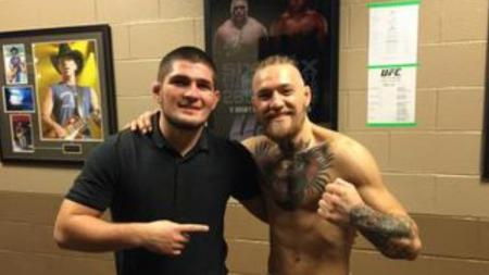 Khabib Nurmagomedov dan Conor McGregor, dua petarung MMA yang sudah memiliki banyak prestasi. - INDOSPORT