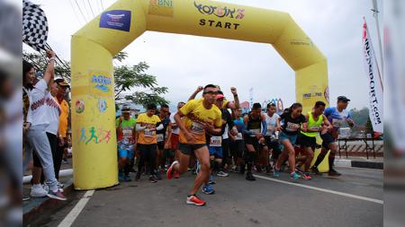 Toraja Marathon Run. - INDOSPORT