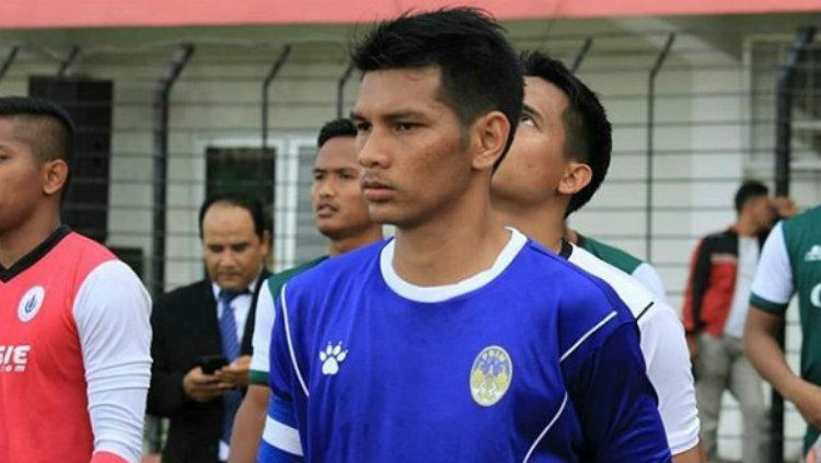 Kapten PSIM Jogja Hendika Arga Permana. Copyright: instagram/hendikaargapermana