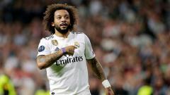 Indosport - Marcelo, bek kiri Real Madrid.