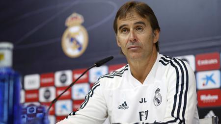 Julen Lopetegui, Pelatih Real Madrid. - INDOSPORT