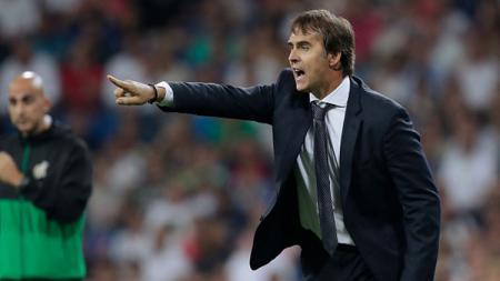 Julen Lopetegui, mantan pelatih Real Madrid yang baru saja ditunjuk mengasuh Sevilla. - INDOSPORT