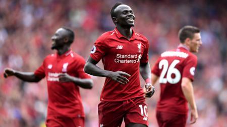 Sadio Mane, bintang sepak bola Liverpool. - INDOSPORT