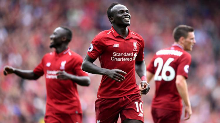 Sadio Mane, bintang sepak bola Liverpool Copyright: INDOSPORT