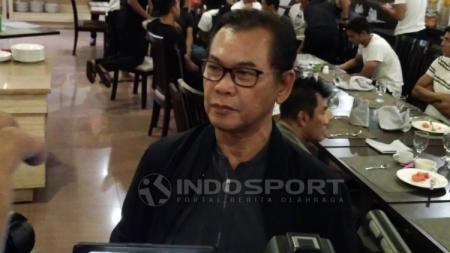 Direktur Utama PT Sriwijaya Optimis Mandiri (SOM) Muddai Madang. - INDOSPORT