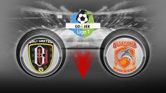 Indosport - Bali United vs Borneo FC.