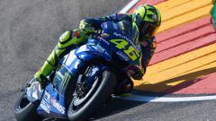 Indosport - Valentino Rossi dalam lintasan balap