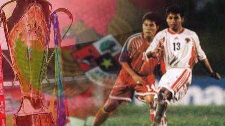 Laga kelam timnas Indonesia melawan Thailand di Piala AFF. - INDOSPORT