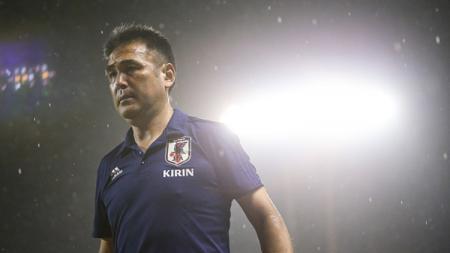 Kageyama Masanaga, pelatih Timnas Jepang U-19. - INDOSPORT
