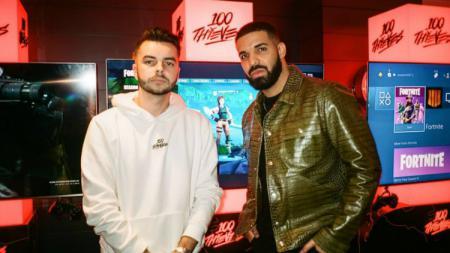 Rapper Drake mulai terjun ke industri e sports. - INDOSPORT