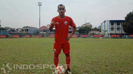 Riko Simanjuntak, bintang sepak bola Persija Jakarta - INDOSPORT
