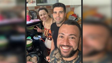 Marcel Sacramento numpang masak di rumah Fabiano Beltrame - INDOSPORT