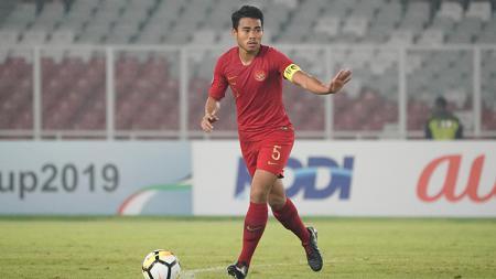 Kapten Timnas Indonesia U-19, Nur Hidayat Haji Haris kemungkinan akan berkarier di Eropa. - INDOSPORT