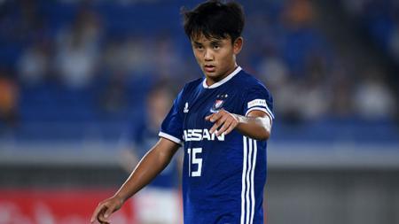 Takefusa Kubo, bintang Timnas Jepang U-19 yang baru bergabung ke Real Madrid. - INDOSPORT