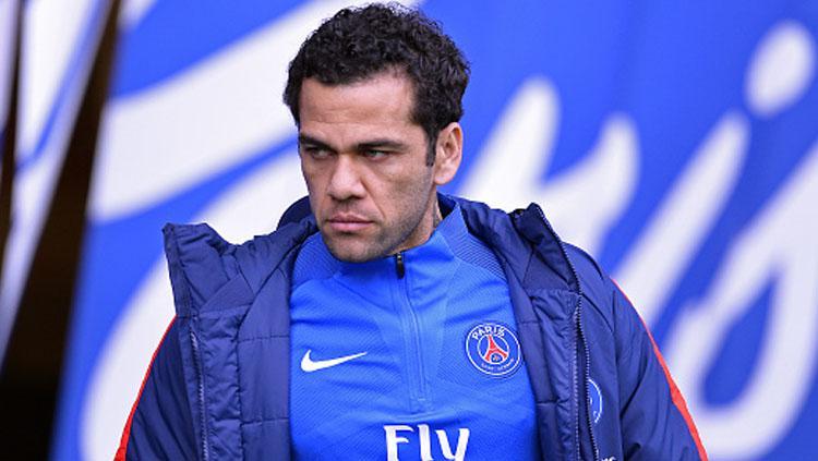 Dani Alves, bek kanan PSG. Copyright: Getty Images