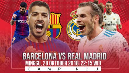 Prediksi Barcelona vs Real Madrid. - INDOSPORT